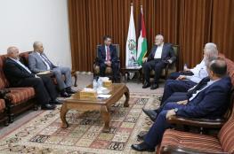 وفد أمني مصري يصل الى غزة ويلتقي هنية