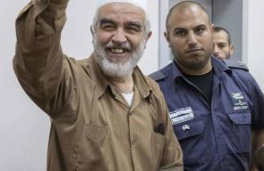 الشيخ رائد صلاح داخل أروقة المحكمة الإسرائيلية