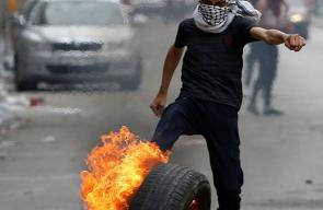مواجهات بين الشبان وقوات الاحتلال في مدينة الخليل