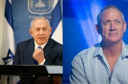 استطلاع للرأي العام الإسرائيلي: تقدم نتنياهو وتراجع غانتس