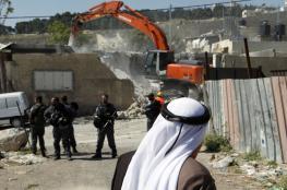 الاحتلال هددم 105 منازل ومنشآت بالقدس المحتلة منذ بداية 2017