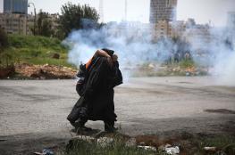 إصابة عشرات الفلسطينيين بمواجهات مع الاحتلال في الضفة