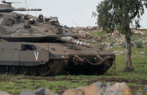 جيش الاحتلال الإسرائيلي يجري تدريبات عسكرية في الجولان المحتل