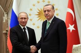 أردوغان: نتشارك مع بوتين الرؤية حول القدس ولايمكن تجاهل جرائم اسرائيل