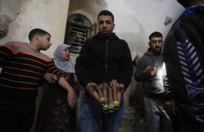 مكان استشهاد المطارد عمر أبو ليلى