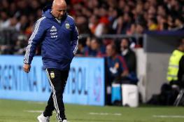 استقالة سامباولي من تدريب المنتخب الأرجنتيني