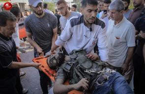 ثلاثة شهداء وإصابة بقصف اسرائيلي شمالي بيت لاهيا