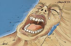 كاريكاتير علاء اللقطة - لا للاستيطان