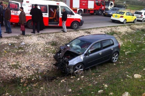 الشرطة : ١٠٢ حالة وفاة بحوادث الطرق في فلسطين منذ بداية العام
