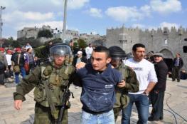 1800 حالة اعتقال من القدس خلال العام الماضي