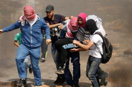 إصابة شابين بالرصاص واعتقال آخرين بمواجهات غرب رام الله