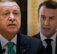 أردوغان-و-ماكرون