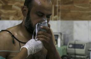 طائرات النظام السوري تقصف حي جوبر بالكلور السام