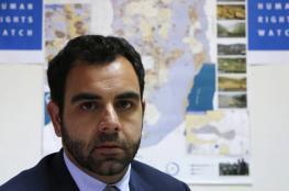 """مساعٍ قضائية لمنع طرد مدير """"هيومن رايتس"""" من الكيان الإسرائيلي"""