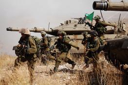 """مناورة واسعة لجيش الاحتلال في """"غلاف غزة"""" اليوم"""