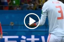 المنتخب الإسباني يوقف اللعب لإنقاذ عصفور