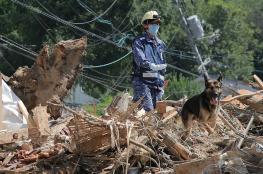 ارتفاع قتلى فيضانات اليابان إلى 200