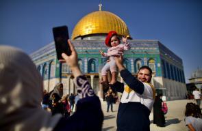 فلسطين تحيي ذكرى المولد النبوي الشريف