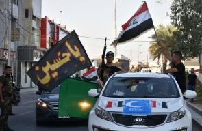 احتفالات في شوارع كركوك بعد بسط سيطرة القوات العراقية عليها