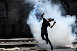 إصابات خلال مواجهات مع الاحتلال في بلدة بيتا جنوب نابلس