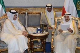 وزير خارجية قطر يسلّم أمير الكويت رسالة خطية من الشيخ تميم