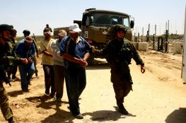 IOF kidnaps four Palestinians in W. Bank