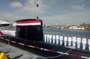 البحرية المصرية تتسلم الغواصة الثانية من طراز