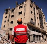 الهلال الأحمر القطري غزة (2)