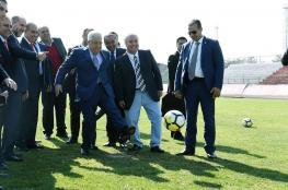 عباس سيحضر المباراة النهائية لكأس العالم في روسيا