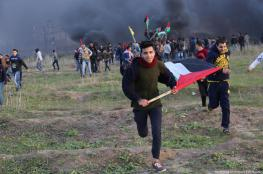 Palestinians shot and wounded during Gaza border protests