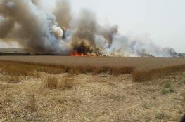 نيران غزة تصل الى سكك الحديد في مستوطنات غلاف غزة