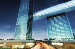 دبي تبني أطول برج أفقي معلق في العالم