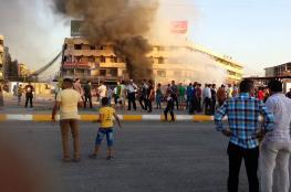 """قذيفة """"كاتيوشا"""" تستهدف المنطقة الخضراء المحصنة في بغداد"""