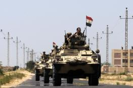 الشرق الأوسط: الجيش المصري يحشد قواته لبدأ عملية عسكرية في سيناء