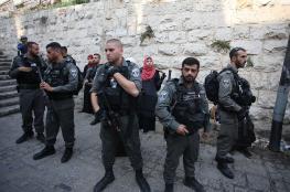 الاحتلال يمنع الحلافات القادمة من أراضي 48 من التوجه للأقصى