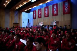 الصين ترغب في افتتاح 50 ألف مدرسة لكرة القدم