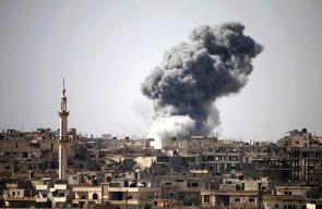 طائرات النظام السوري تقصف درعا