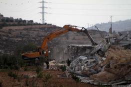 Israeli occupation destroys foundations of child center in Jenin