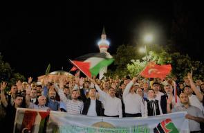 تواصل المظاهرات في المدن التركية تنديدا بمجزرة الاحتلال في غزة