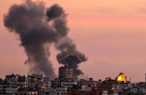 اصابات بسلسلة غارات اسرائيلية استهدفت قطاع غزة
