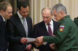 الأسد: ثقة الروس في بوتين نتيجة طبيعية لأدائه الوطني