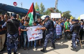 وزارة الداخلية في غزة تؤمن وصول وفد حكومة التوافق لاستلام مهامها وتحمل مسؤولياتها