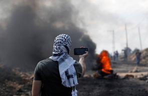 قوات الاحتلال تقمع مسيرة كفر قدوم الاسبوعية