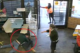 مصارع شاب ينقذ 3 أطفال من محاولة اختطاف