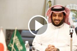 تركي آل الشيخ: وجهي حلو على المصريين