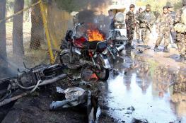 مقتل أربعة وإصابة أكثر من 20 في انفجار جنوب شرق أفغانستان