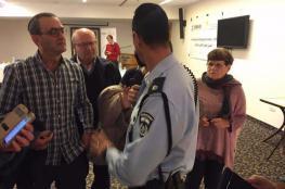 مرفق فيديو .. نشطاء يفشلون لقاءً تطبيعيا في القدس
