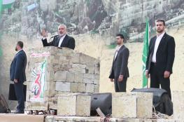 مستعد لمقابلة عباس في أي مكان.. هنية يدعو لحكومة وحدة وطنية وانتخابات عامة بعد ثلاثة أشهر
