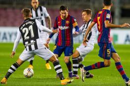 برشلونة يستعيد توازنه بهدف في شباك ليفانتي