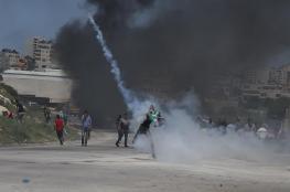 """عشرات الإصابات بمواجهات مع الاحتلال في """"عوفر"""" وأبو ديس"""